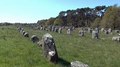 Menhirs de Carnac - France