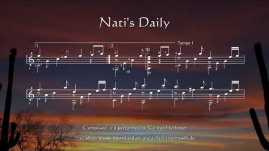 Nati's Daily - Sheet Music