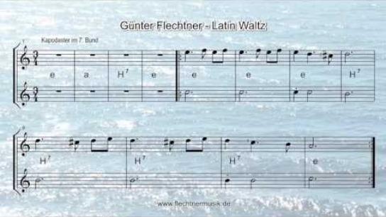 Günter Flechtner: Latin Waltz